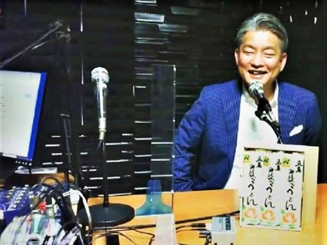 「かみちゃんの○○ラジオ」スタジオ風景